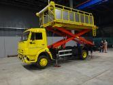 Автомобиль с подъемным кузовом АПК-10 (К) (Чайка-Сервис) (комбинированный) на базе шасси КАМАЗ 4308